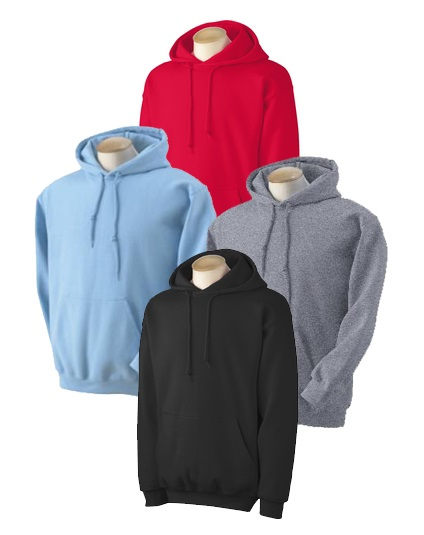 Adult Pullover Hood - Assorted Colors